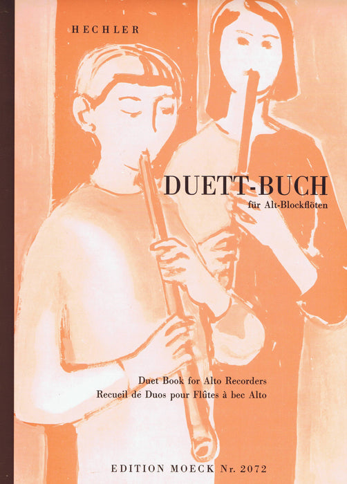 Hechler (ed.): Duet Book for Alto Recorders