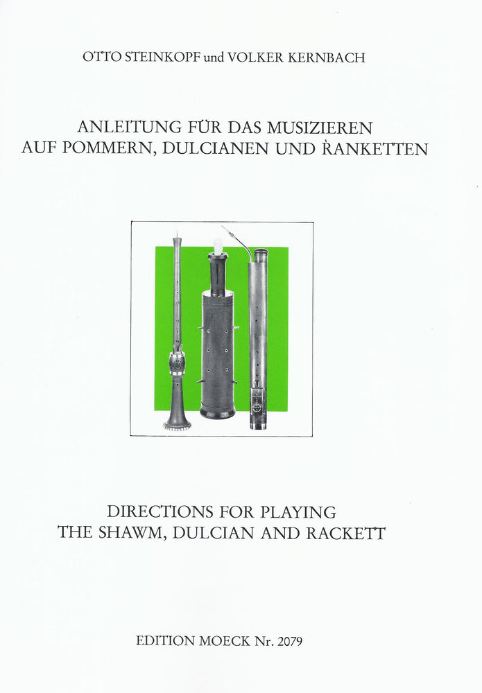 Various: Directions for Playing the Shawm, Dulcian and Rackett