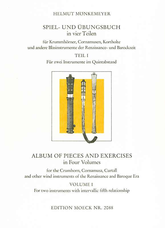 Mönkemeyer: Album of Pieces and Exercises, Vol. 1