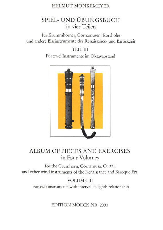 Monkemeyer: Album of Pieces and Exercises for 2 Instruments, Vol. 3