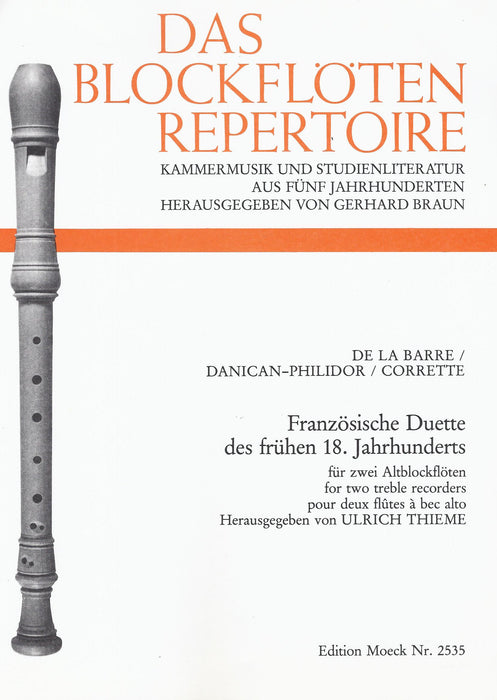 Various: French Duets for 2 Treble Recorders