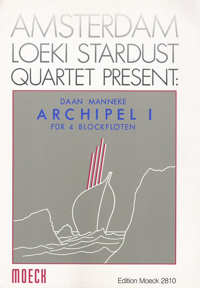 Manneke: Archipel I for 4 Recorders