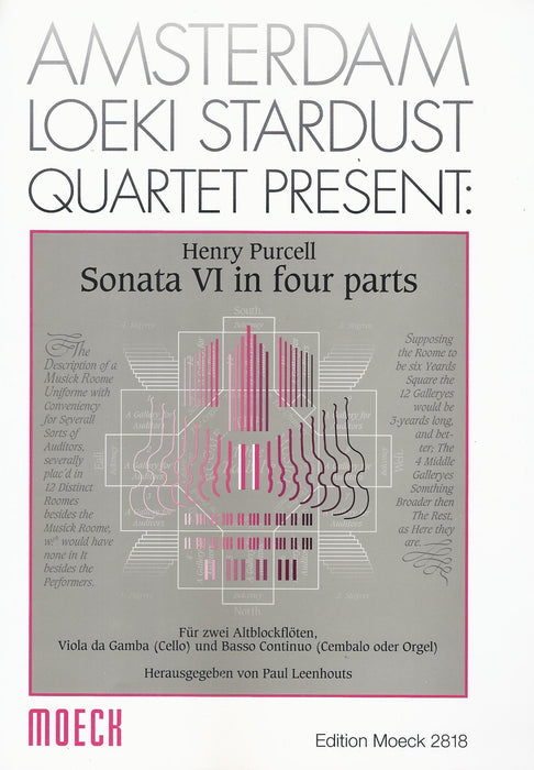 Purcell: Sonata No. 6 in 4 Parts for 2 Treble Recorders, Viola da Gamba and Basso Continuo