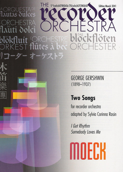 Gershwin: Two Songs for Recorder Orchestra