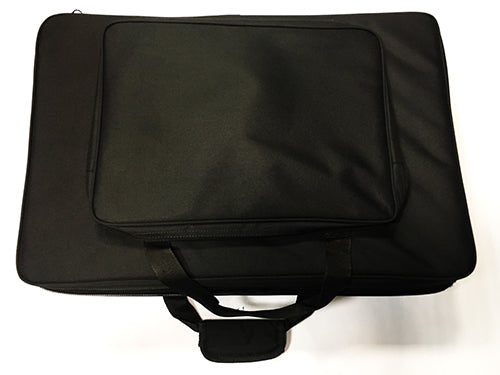 EMS HD10RH 6 Horizontal Slot Recorder Case With Sheet Music Compartment