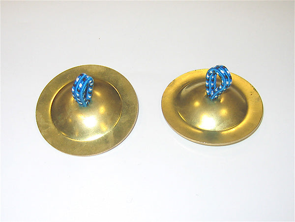 brass finger cymbals by the early music shop