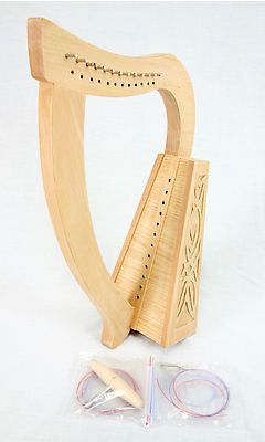 EMS 12 String Knee Harp Kit