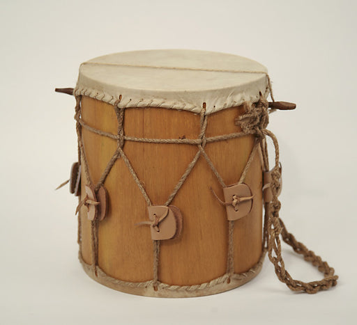 "EMS 10"" x 11"" Small Short Shell Medieval Drum  with drum stick"