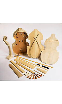 EMS 6 String Bass Viol Kit - for home assembly