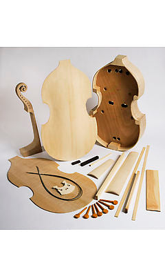 EMS 7 String Bass Viol Kit - for home assembly