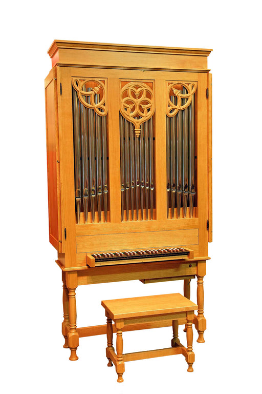 EMS 4ft Portative Organ by Early Music Shop