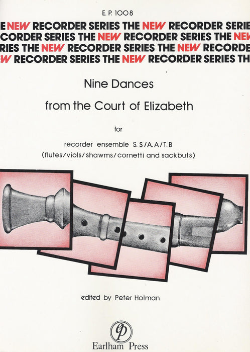 Various: 9 Dances from the Court of Elizabeth for 2 Recorders