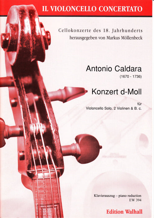 Caldara: Concerto in D Minor for Violoncello - Piano Reduction