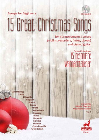 Various: Europe for Beginners - 15 Great Christmas Songs