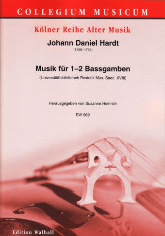 Hardt: Pieces for 1-2 Bass Viols