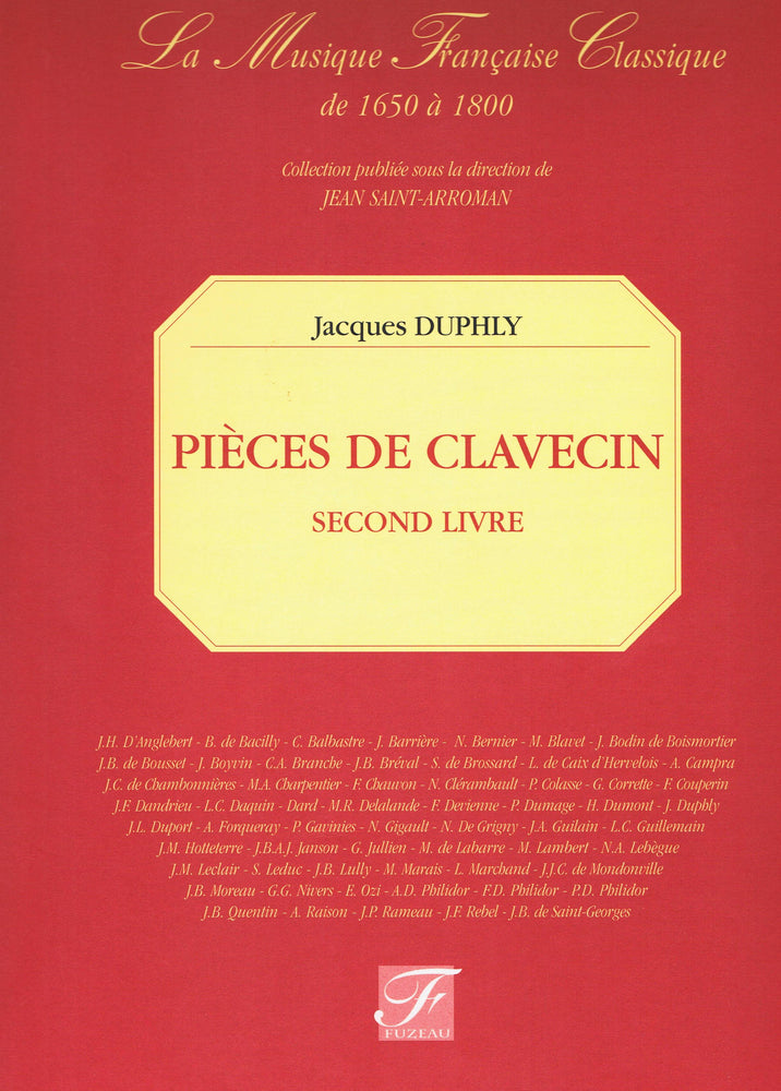 Duphly: Pieces de Clavecin, Second Livre