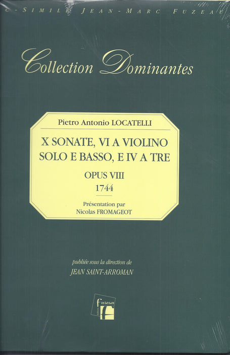 Locatelli: 10 Sonatas - 6 Sonatas for Violin and Basso Continuo & 4 Trio Sonatas