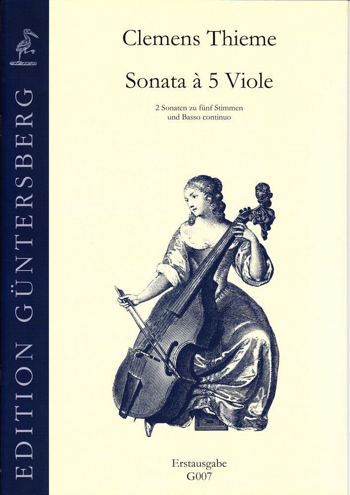 Thieme: 2 Sonatas for 5 Viols and Basso Continuo