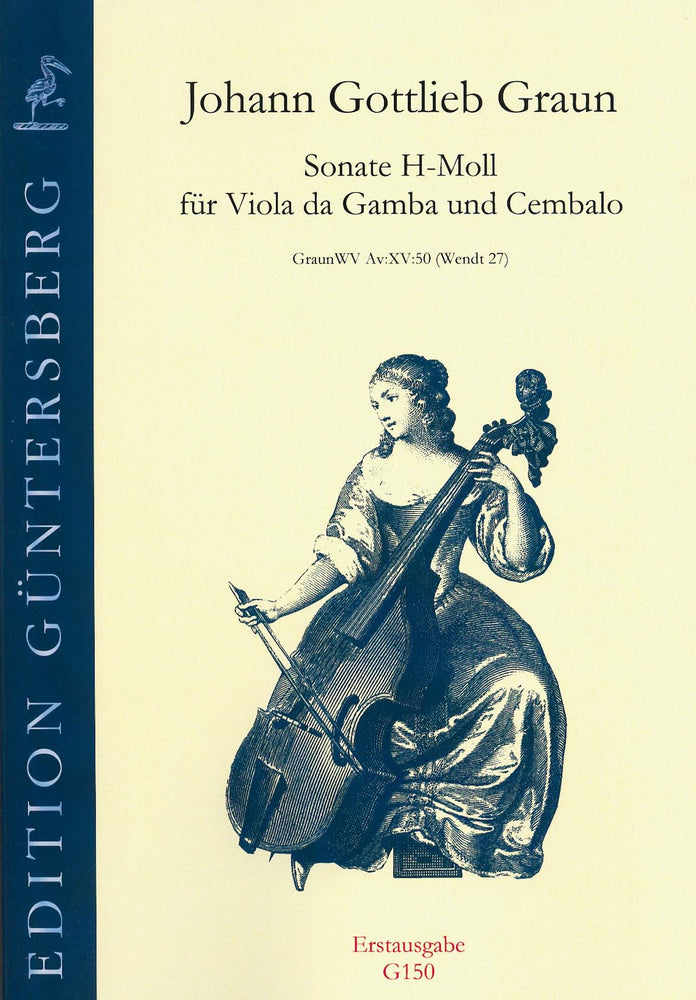Graun: Sonata in B Minor for Viola da Gamba and Harpsichord