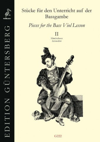 Various: Pieces for the Bass Viol Lesson, Book II - Intermediate