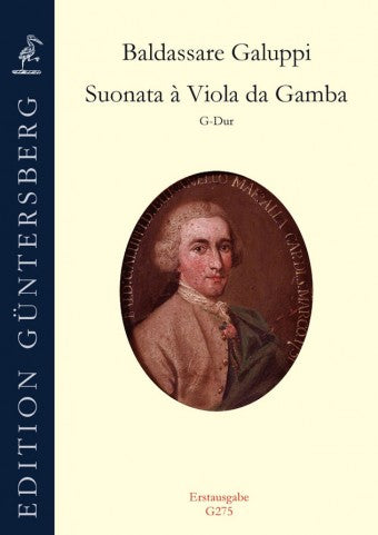 Galuppi: Sonata in G Major for Viola da Gamba and Basso Continuo
