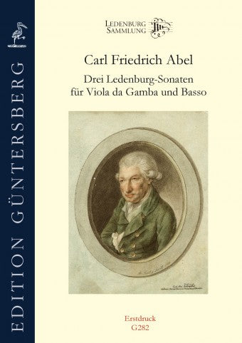 Abel: 3 Ledenburg Sonatas for Viola da Gamba and Basso Continuo