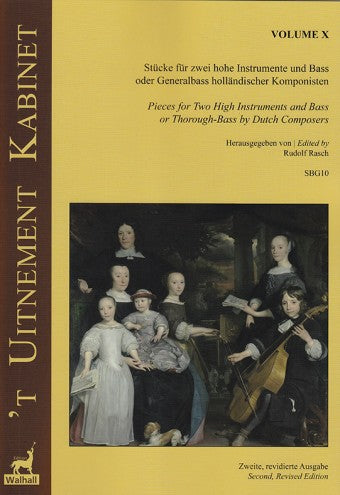Various: 'T Uitnement Kabinet: 17 Works for Two Melody Instruments and Basso – Volume X