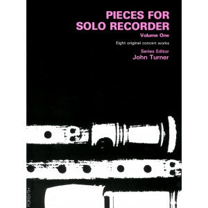 Turner (ed.): Pieces for Solo Recorder, Vol. 1