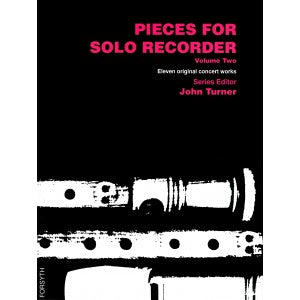 Turner (ed.): Pieces for Solo Recorder, Vol. 2