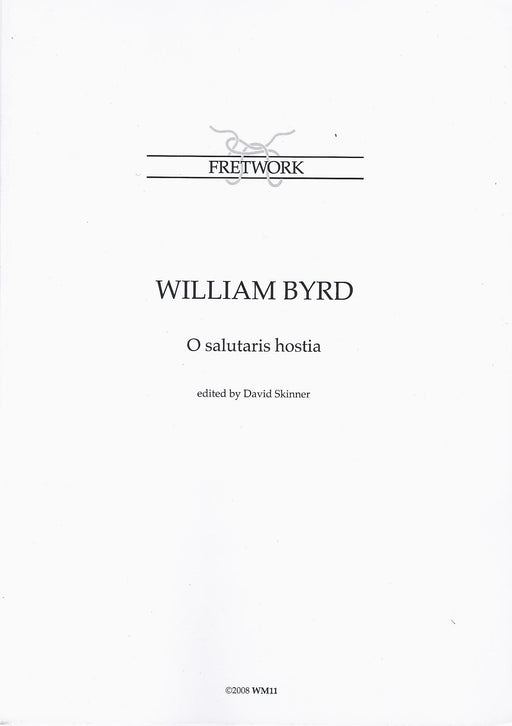 Byrd: O Salutaris Hostia for 6 Voices or Instruments