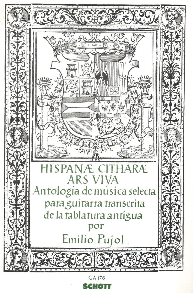 Pujol (ed.): Anthology of Guitar Music from old Tabulaturas