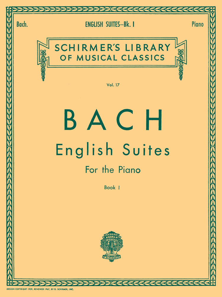 J. S. Bach: English Suites, Book 1