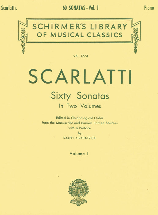 Scarlatti: 60 Sonatas in 2 Volumes, Vol. 1