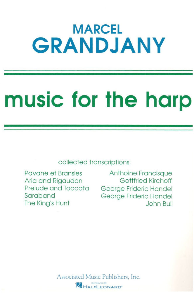 Grandjany: Music for the Harp
