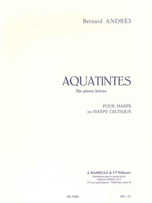 Andres: Aquatintes for Harp
