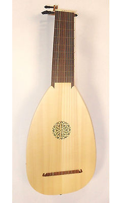 Haddock 11-Course Baroque Lute after Hans Frei (Left-Handed)