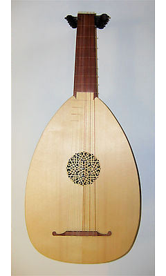 Haddock 6-Course Renaissance Lute after Hieber (Left-Handed)
