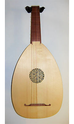 Haddock 6-Course Renaissance Lute after Hieber