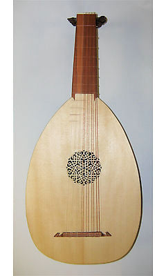 Haddock 7-Course Renaissance Lute after Hieber (Left-Handed)