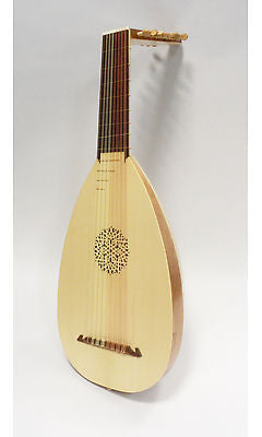 Stephen Haddock 8 Course Lute in F after Hans Frei  - left handed option