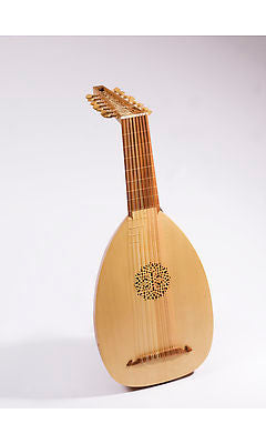 Haddock 8-Course Renaissance Lute after Hieber (Left-Handed)