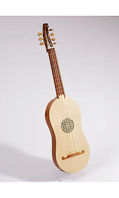 Haddock 4 Course Renaissance Guitar - left handed option