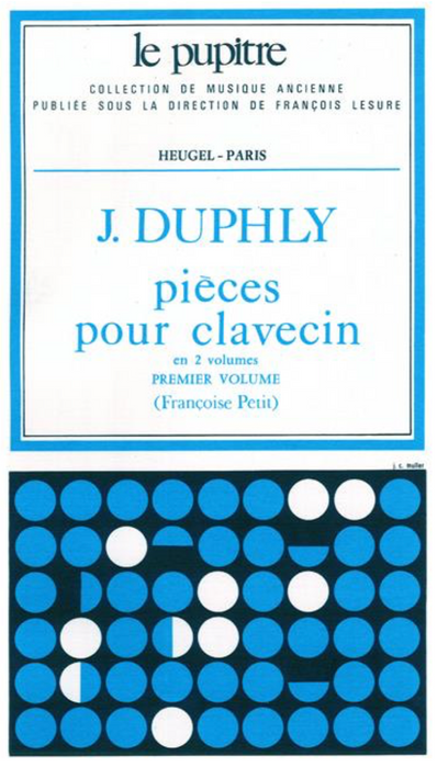 Duphly: Pieces de Clavecin - Volume 1