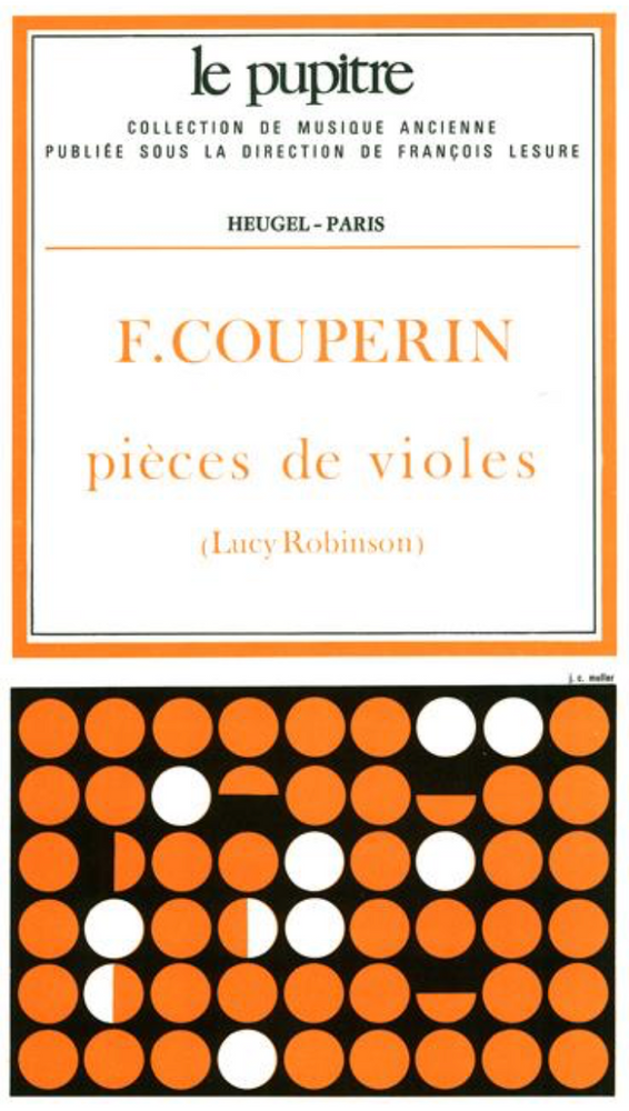Couperin, F: Pieces de Viole for Viola da Gamba