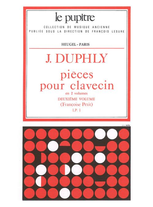 Duphly: Harpsichord Pieces, Vol. 2