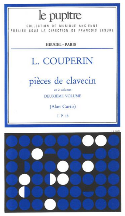 Couperin, L: Pieces de Clavecin - Volume 2