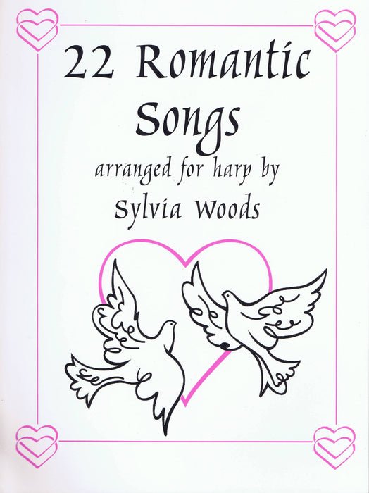 Woods (ed.): 22 Romantic Songs for Harp
