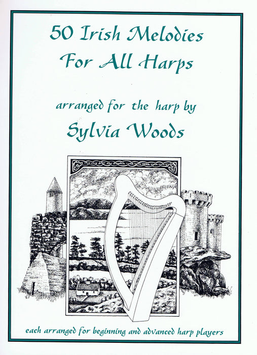 Woods (ed.): 50 Irish Melodies for All Harps