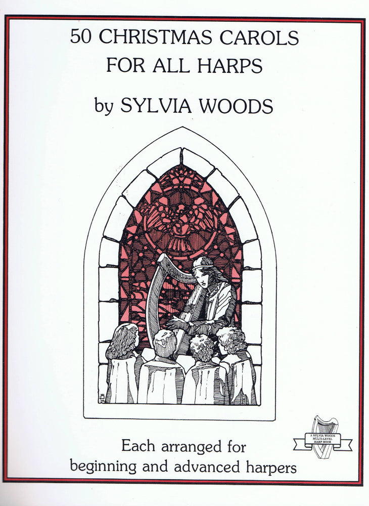 Woods (ed.): 50 Christmas Carols for All Harps