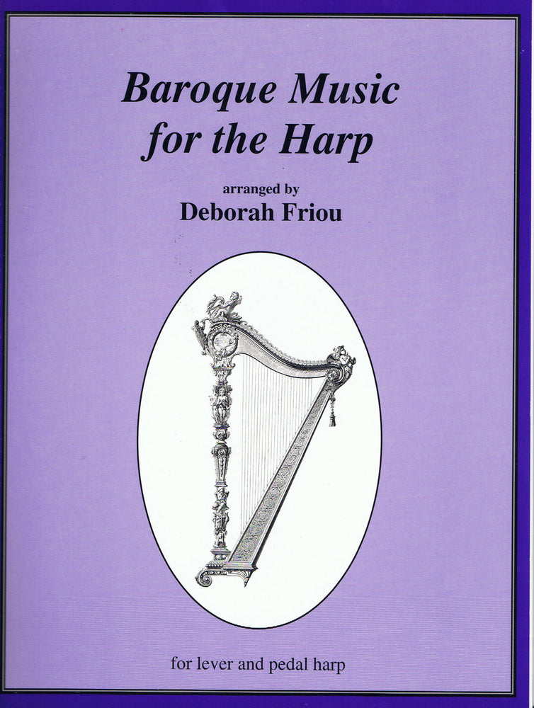 Friou (ed.): Baroque Music for the Harp